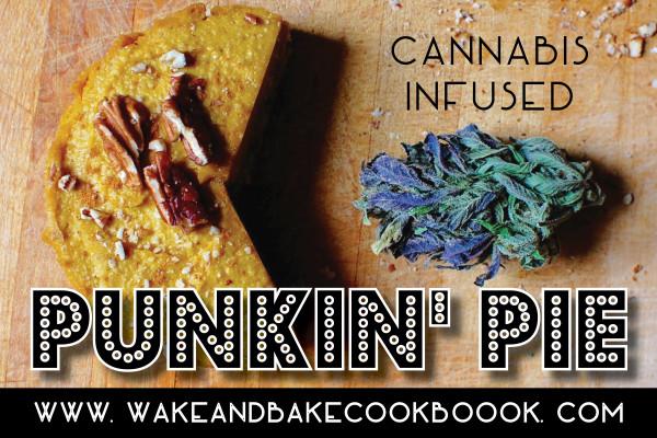Cannabis Infused Pumpkin Pie (No Bake!)