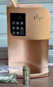 Levo oil infuser with cannabis