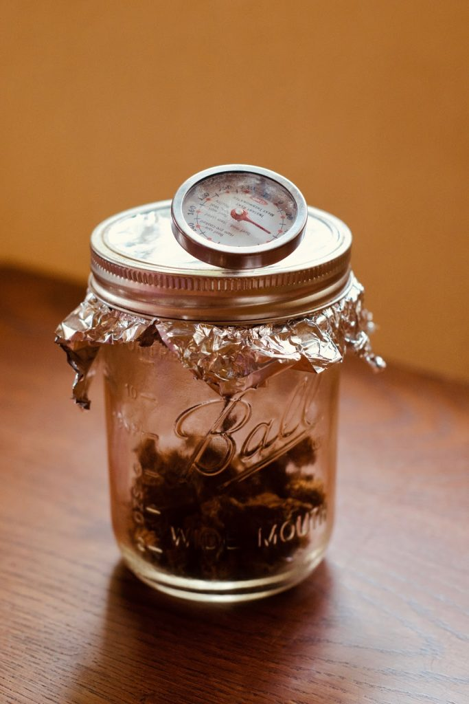 mason jar decarboxylation of CBG