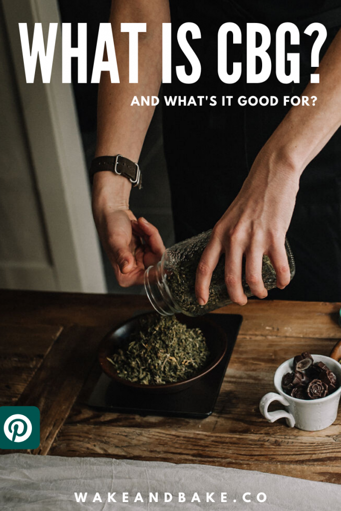 What is CBG and what's it good for?