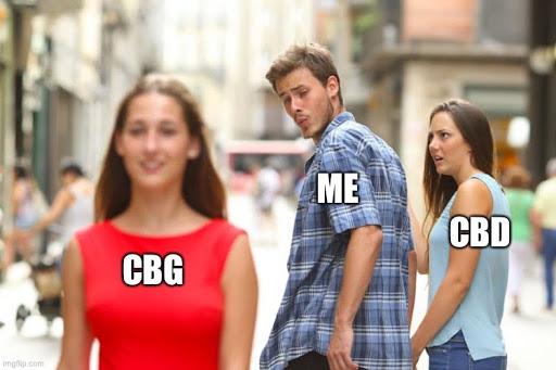 boyfriend look back cbg meme