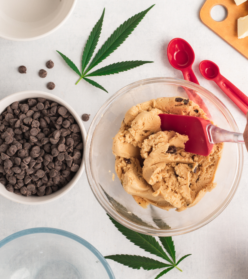 baking with cannabis