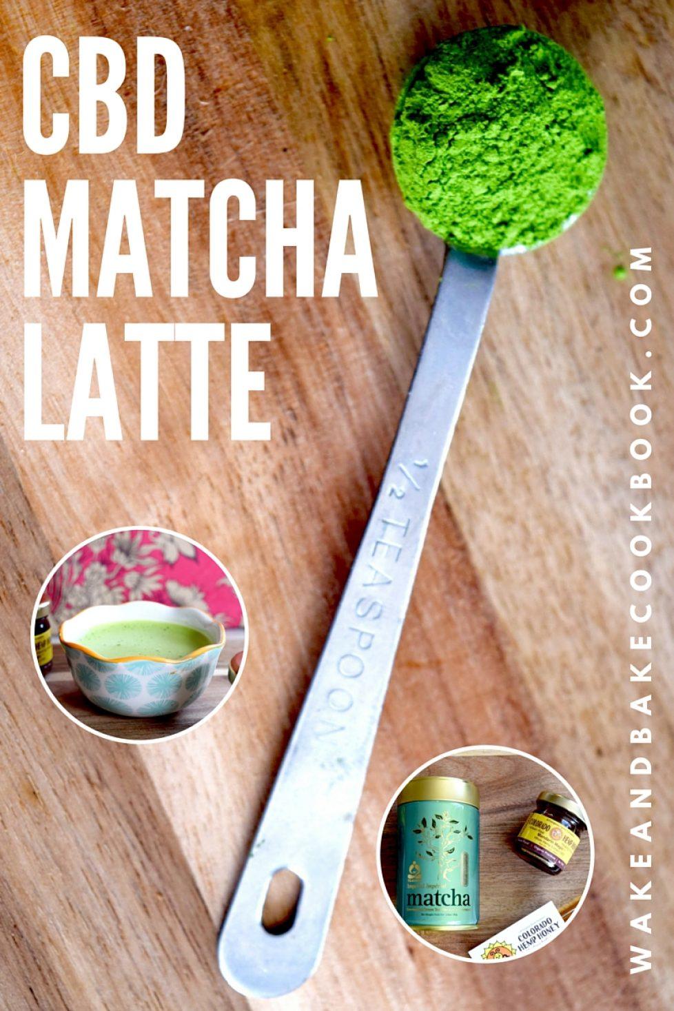 cbd matcha latte recipe