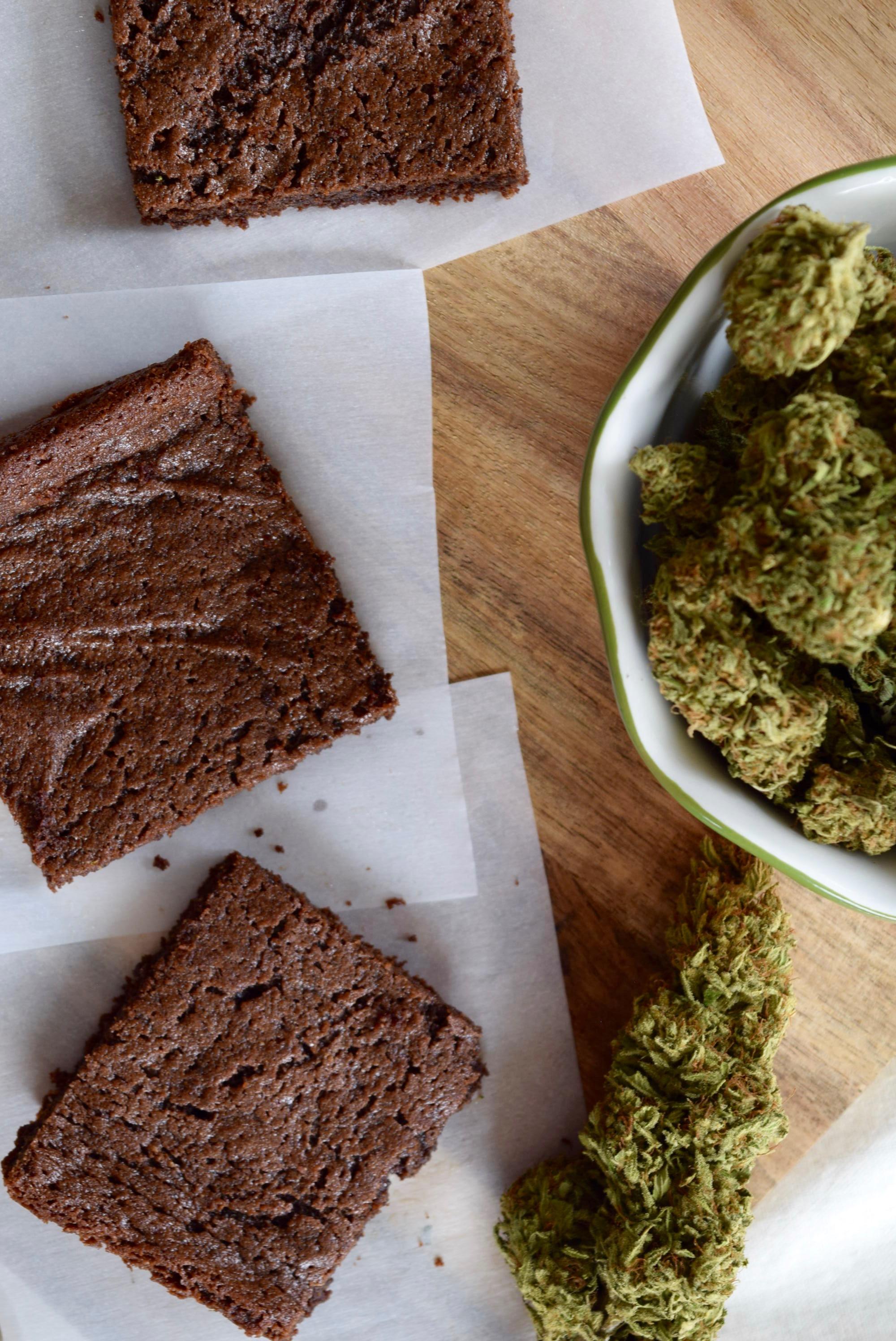 vegan brownie edibles