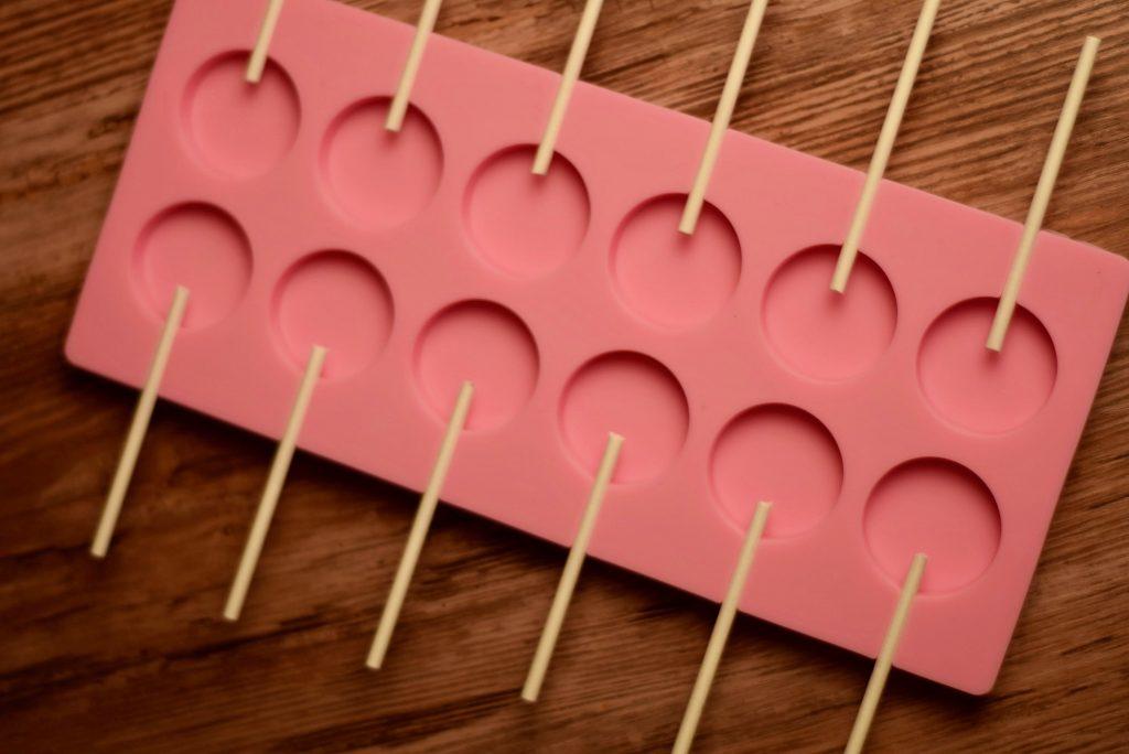 cannabis lollipop molds