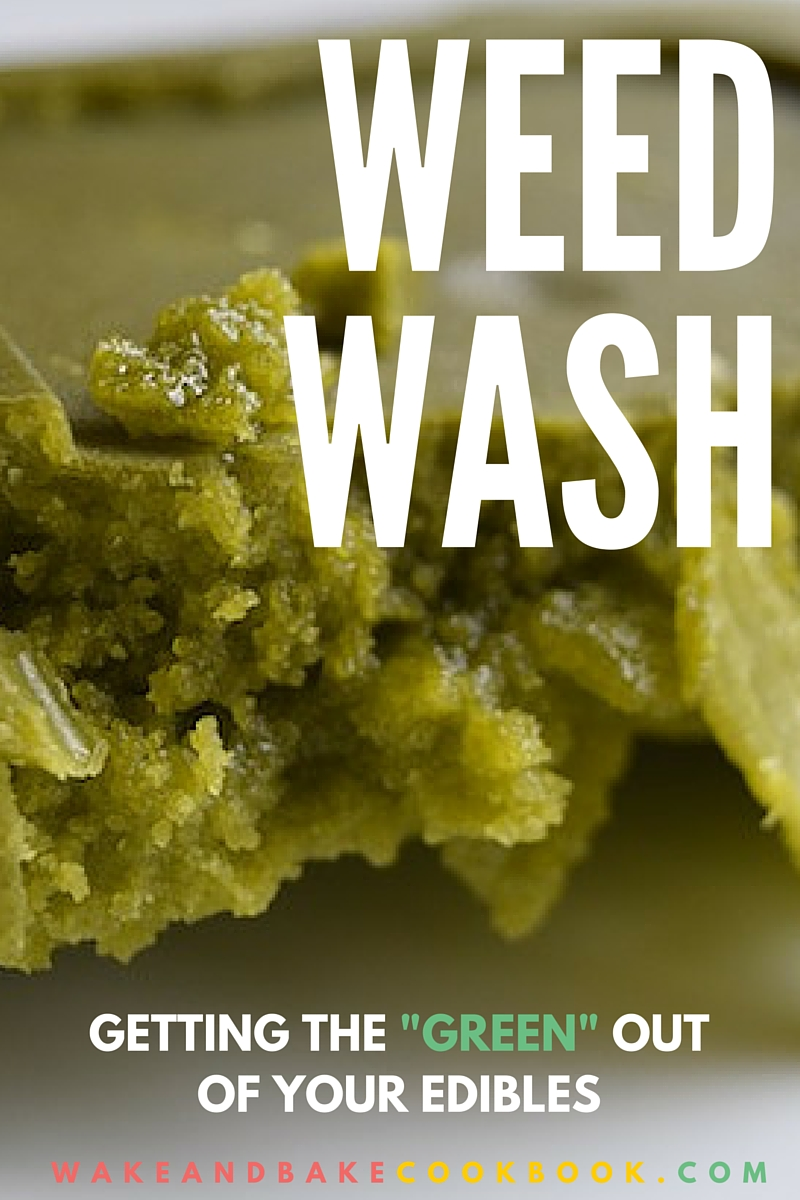 Weed Wash: For Better Tasting Edibles