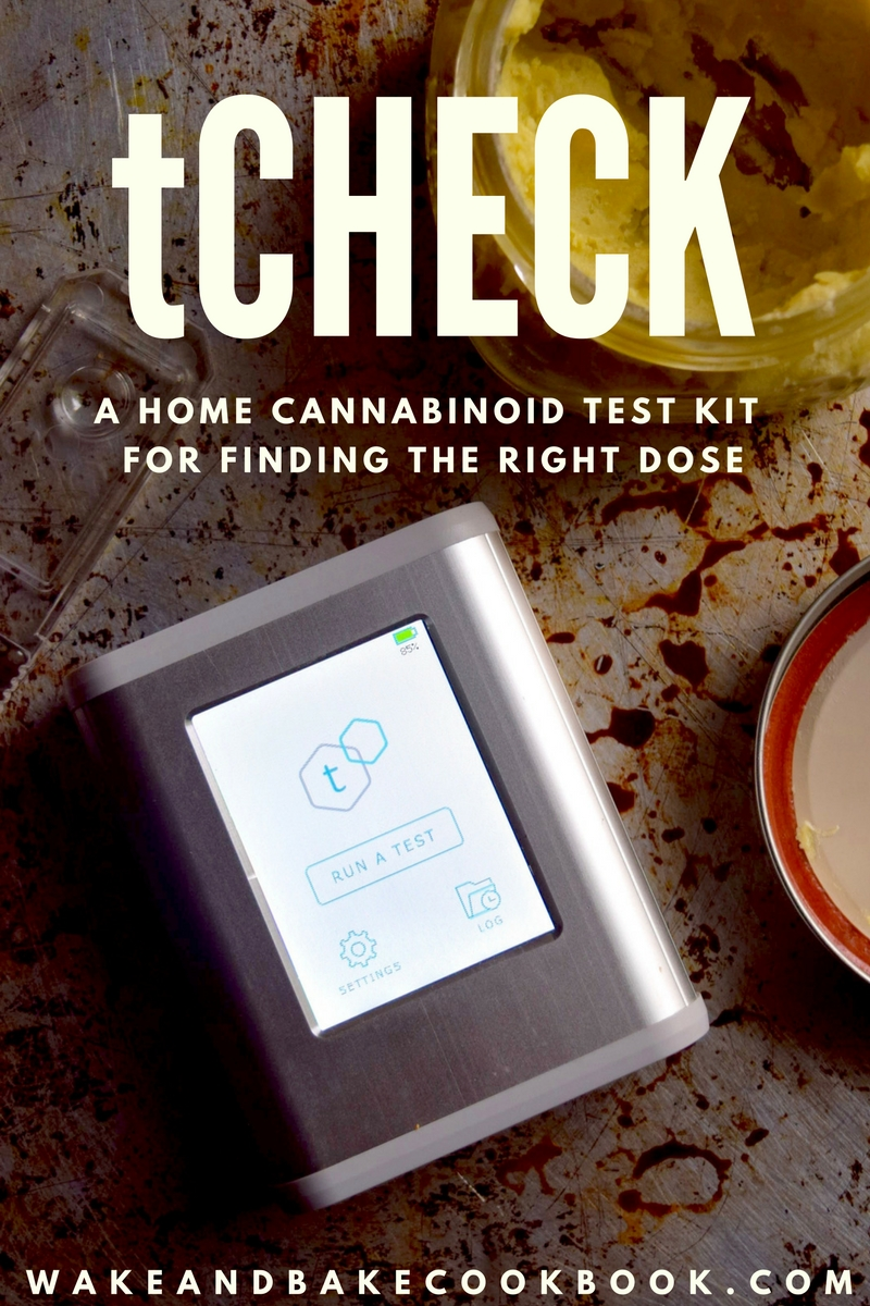 The tCheck Cannabis Oil Potency Tester: Accurately Dose Your Edibles, Every Time